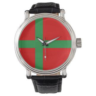 Bornholm Denmark flag region province symbol Watch