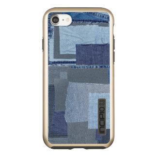 Boro Boro Blue Jean Patchwork Denim Shibori Incipio DualPro Shine iPhone 8/7 Case