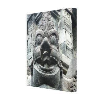 Borobudur Statue in Indonesia Canvas Print
