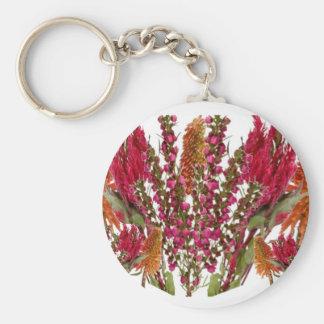 Boronia Lipstick Flower Show Keychain