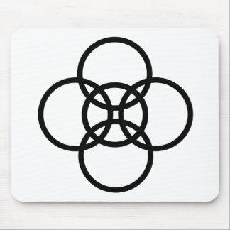 Borromean-Cross Mouse Pad