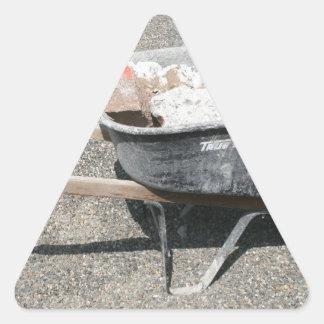 Borrow A Wheel Triangle Sticker