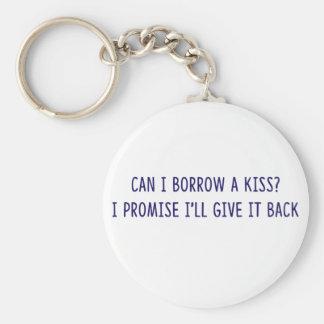Borrowed Kiss shirts, accessories, gifts Key Ring