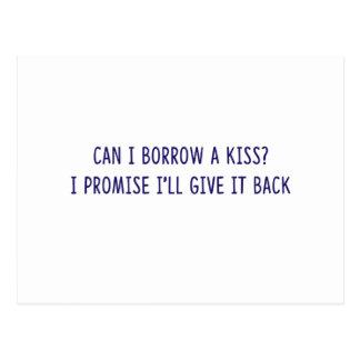 Borrowed Kiss shirts, accessories, gifts Postcard