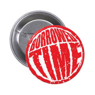 Borrowed Time circle stamp hanko Pin