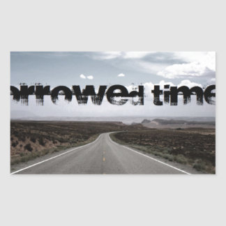 Borrowed Time Swag Rectangular Stickers