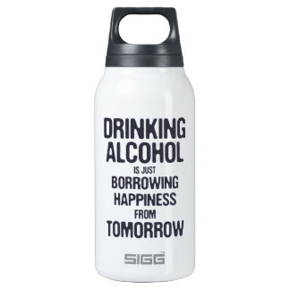 Borrowing Happiness 0.3L Insulated SIGG Thermos Water Bottle