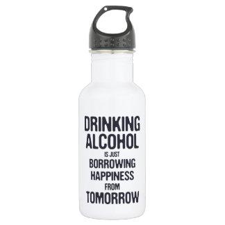 Borrowing Happiness 532 Ml Water Bottle
