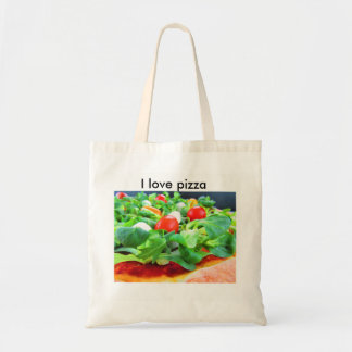 borsa pizza tote bag