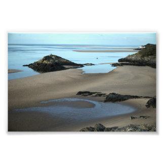 Borth Y Gest Coastline Photo Print