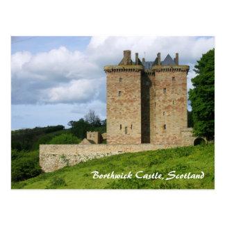 Borthwick Castle Post Card