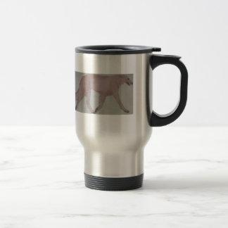 BORZOI COFFEE TRAVEL MUG