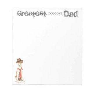 Borzoi Dad Notepad