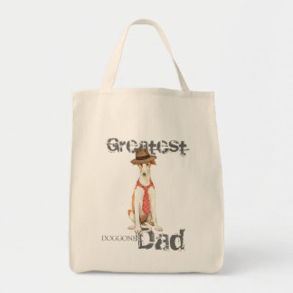 Borzoi Dad Tote Bag