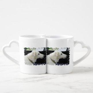 Borzoi Dog Couples Mug