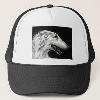 borzoi trucker hat