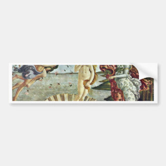 Bosanski: Roä'Enje Venere.,  By Sandro Botticelli Bumper Sticker