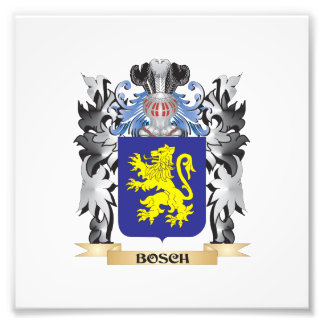 Bosch Coat of Arms - Family Crest Photograph