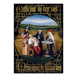Bosch - Extracting the Stone of Madness Poster