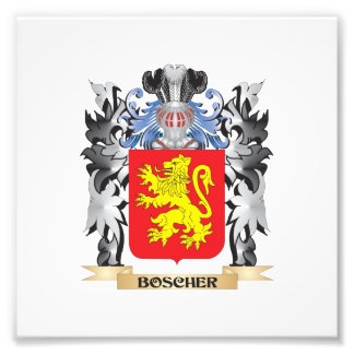 Boscher Coat of Arms - Family Crest Photo