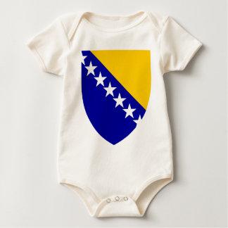 Bosnia And Herzegovina Coat Of Arms Baby Bodysuit