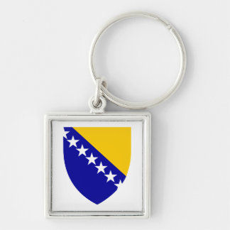 Bosnia and Herzegovina Coat of Arms Keychain