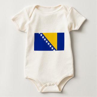Bosnia and Herzegovina Flag Baby Bodysuit