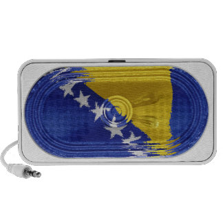 Bosnia and Herzegovina Flag Speaker FX On Doodle