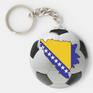 Bosnia and Herzegovina national team Basic Round Button Key Ring