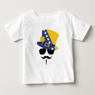 Bosnia and Herzegovina of goes Mustache Baby T-Shirt
