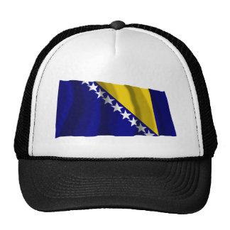 Bosnia and Herzegovina Waving Flag Cap