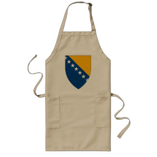 Bosnia Coat of Arms Apron