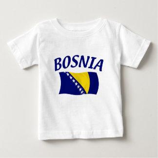 Bosnia Flag Baby T-Shirt