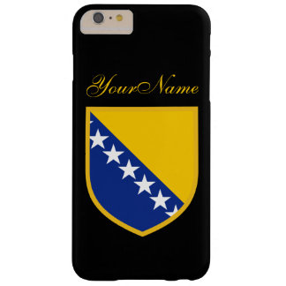 Bosnia Flag Barely There iPhone 6 Plus Case