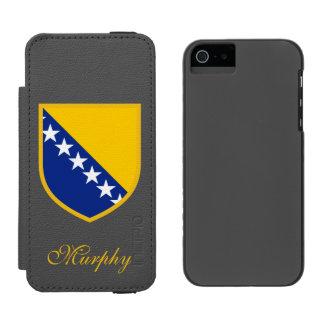Bosnia Flag Incipio Watson™ iPhone 5 Wallet Case