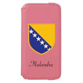 Bosnia Flag Incipio Watson™ iPhone 6 Wallet Case