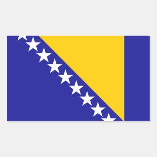 Bosnia Flag Rectangular Sticker