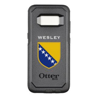 Bosnia Herzegovina Flag OtterBox Commuter Samsung Galaxy S8 Case