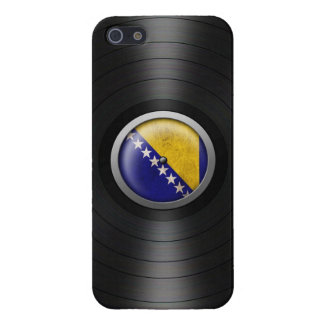 Bosnia - Herzegovina Flag Vinyl Record Album Graph iPhone 5/5S Case