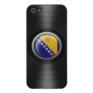 Bosnia - Herzegovina Flag Vinyl Record Album Graph iPhone 5 Cover