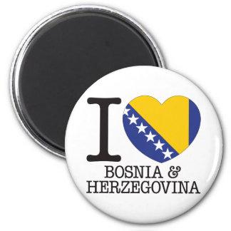 Bosnia Herzegovina Love v2 Magnet