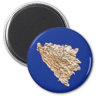 Bosnia Herzegovina Map Magnet
