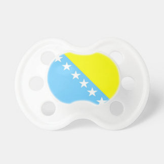 Bosnia & Herzenovina Flag Pacifier