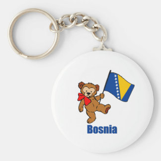 Bosnia Teddy Bear Key Ring