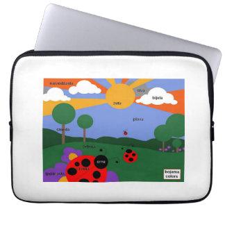 """Bosnian Colors 14"""" waterproof laptop case"""
