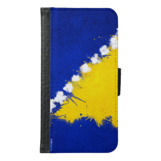 Bosnian Galaxy S6 Phone Wallet Case