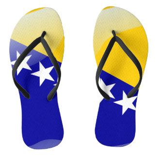 Bosnian glossy flag thongs