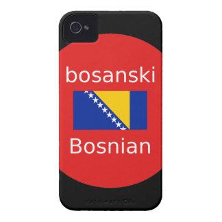 Bosnian Language Design Case-Mate iPhone 4 Case