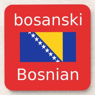 Bosnian Language Design Coaster