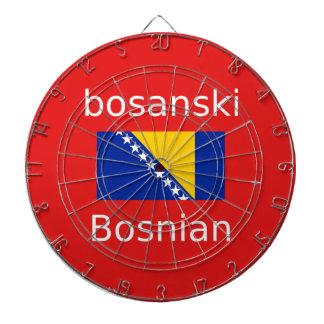Bosnian Language Design Dartboard